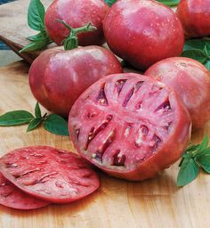 Learn more about Cherokee Purple Heirloom Tomato, known for its pink skin and rich, red flesh. This indeterminate plant is a consistent taste test favorite.