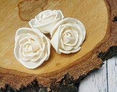 Sola Flowers rose bud Wedding Flowers white ivory diy bouquet floral supply natural flowers rustic 25 pcs favor natural table decor cheap
