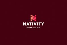 Nativity • Letter N Logo Template by Rudy-design on @creativemarket