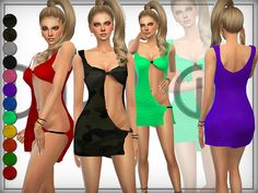 Sims 4 CC's - The Best: Wildness [Dress] by DarkNighTt