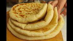 Bazlama - Turkish flatbread - Pekar i Pekarica Bosnian Recipes, Croatian Recipes, Turkish Recipes, Bosnian Bread Recipe, Albanian Recipes, Turkish Flatbread Recipe, Flatbread Recipes, Fun Baking Recipes, Bakery Recipes