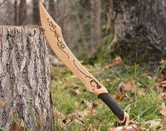 Éowyn's Sword Lord of the Rings Wooden by ImagineNationShop