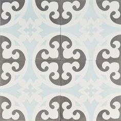 New Blue and Grey Clover