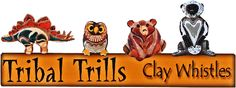 Tribal Trills Clay Whistles