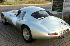 1963 Jaguar E-Type Lightweight Lindner Low Drag