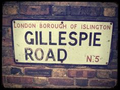 "Gillespie Road is a road in Highbury, North London, running east-west along the north side of the Arsenal Stadium, previously home of Arsenal Football Club. Arsenal tube station was originally named Gillespie Road, before being given its current name, ""Arsenal"" in 1932 following pressure from the club. It is the only Tube station named directly after a football club."