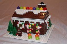 LEGO Ideas - Christmas / Holiday Gingerbread House