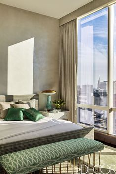 Green Accents- ELLEDecor.com