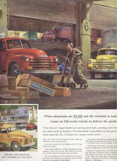 1952 Chevrolet Truck Ad