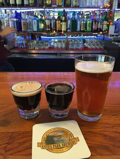 Beer Tasting at Estes Park, Brewery   Estes Park, CO