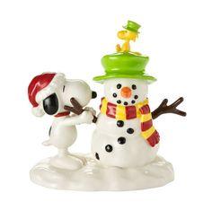 Snoopys Snowman Figure