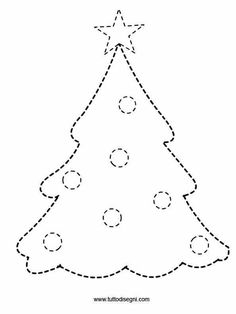 Crafts,Actvities and Worksheets for Preschool,Toddler and Kindergarten.Lots of worksheets and coloring pages. Christmas Tree Template, Christmas Card Crafts, Felt Christmas, Holiday Crafts, Christmas Holidays, Christmas Decorations, Christmas Worksheets, Christmas Activities, Childrens Christmas