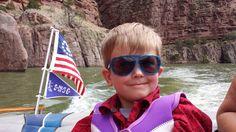 Jonah in Lake Alcova Canyon