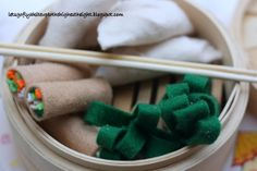 Links on how to make these dumplings, spring rolls and broccoli.  Get a steamer basket - maybe at dollar store?