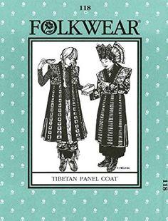 Folkwear 118 Tibetan Panel Coat