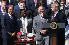 Photos: Alabama visits the White House