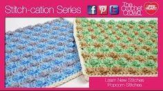 How To Crochet Popcorn Stitches