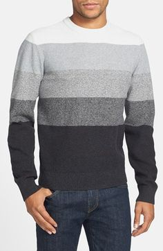 Original Penguin Ombré Stripe Sweater available at #Nordstrom