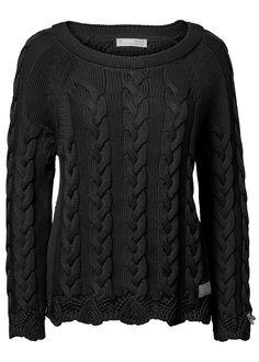 Odd Molly Sweater mørkegrå - All Day Long Pullover 816M-730 asphalt – Acorns