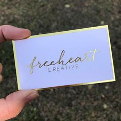 Do you want to see your business name in gold foil? Do you want business cards that truly stand out and that clients will not throw away? Do you want business cards that increase brand awareness and sales? I would love to create such business cards!!! Contact me at www.ShaynaMade.com. ... These beauties were printed for the lovely ladies of @freeheartcreative Design by @kaleighturnercreative . . . . #shaynamademeshine #shaynamade #businesscards #4hww #girlcode #girlboss