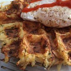 Hash Brown Waffles Allrecipes.com