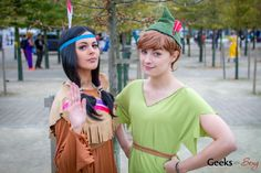 Tiger Lily and Peter Pan - MCM London Comic-Con 2014
