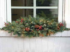 Christmas Window Decoration Ideas Home Christmas Window Decoration Ideas With Plants In Window Decoration