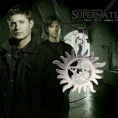 Supernatural Pentagram Pendant Necklace Supernatural Jewelry Cosplay Jewelry