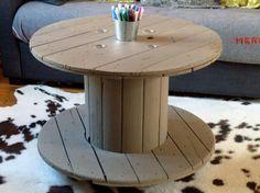 Table Bobine Récup'