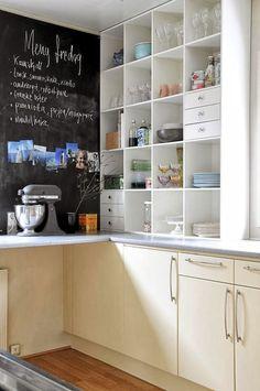 """Querido Refúgio, Blog de decoração e organização com loja virtual: Cozinha Pequena """"improvisada"""" e com personalidade"""