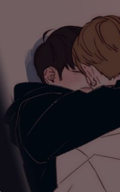 Anime Couples Drawings, Bts Drawings, Couple Drawings, Jikook, Cute Couple Art, Cute Couples, Chanbaek Fanart, Friend Tumblr, M Anime