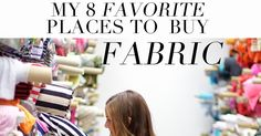 I get emails all the time about where to buy fabric, or which blends of fabric to buy, so today I'm tackling the first part, and the seco...