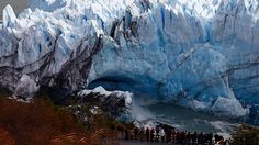 Espectacular ruptura del Perito Moreno