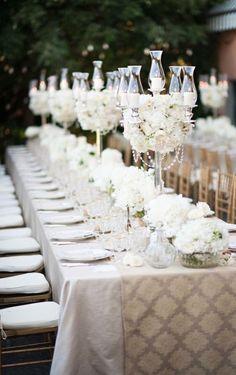 Photographer: Magnus Bogucki; Wedding reception centerpiece idea