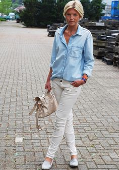 Mirror of Fashion: OUTFIT OF THE DAY // DENIM DAYS