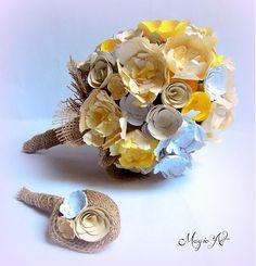 Bellavida / Svadobné rande na lúke... Paper Flowers, Bouquet, Vintage, Bouquets, Floral Arrangements, Nosegay, Primitive