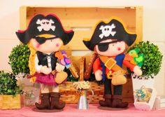 Girassóis Mágicos: Festa Piratas