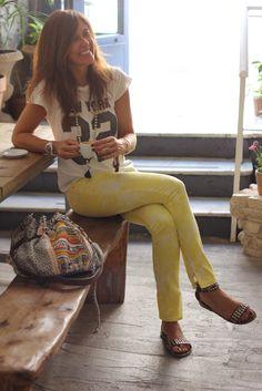 blanca: the site-56592-mytenida Boho Chic, Hippie Chic, Boho Style, Bohemian, Teen Fashion, Boho Fashion, Womens Fashion, Boho Outfits, Summer Outfits