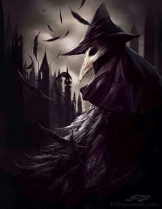 Eileen the Crow, Bloodborne fanart requested by a friend! Can't wait to have the means to play this game myself /)u ou(\ Eileen the crow Doctor Mask, Plague Doctor, Dark Fantasy Art, Dark Art, Eileen The Crow, Tattoo Homme, Arte Dark Souls, Bb Beauty, Bloodborne Art