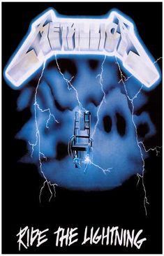 Metallica Ride the Lightning Album Cover Music Poster 11x17 – BananaRoad