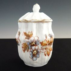 Antique mustard pot R.S. Prussia porcelain