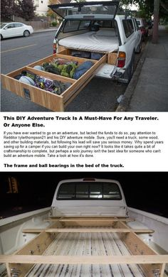 Would you like to go camping? If you would, you may be interested in turning your next camping adventure into a camping vacation. Camping vacations are fun Truck Canopy Camping, Camping Diy, Camping Hacks, Camping Gear, Camping Equipment, Camping Essentials, Camping Items, Camping Storage, Camping Organization