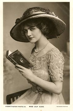 Miss Lily Elsie reading | Flickr - Photo Sharing!