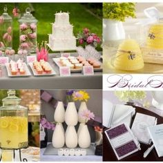 Bridal shower ideas bride to bee inspiration board