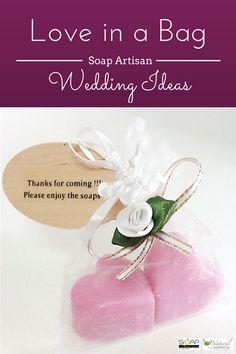 Simple, classy wedding favour!