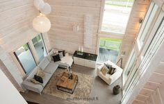 Villa Adele Adele, White Houses, Villa, Cottage, Black And White, Living Room, Wood, Interior, Home Decor