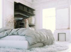 White Bedroom   MarvelousDesigner tutorial for 3dArtist by Juraj Talcik, via Behance