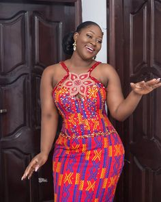 Top African Print Clothing Styles this week. From fabulous African accessories, African dresses, Ankara maxi skirts and African print coats African Wedding Dress, Latest African Fashion Dresses, African Dresses For Women, African Attire, African Print Clothing, African Print Dresses, African Print Fashion, Africa Fashion, Ghana Fashion