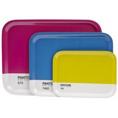 PANTONE Coloured Serving Trays