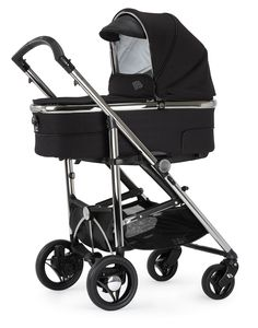 Bebecar SpotTech in Black Shadow.  The new SpotTech is the only pushchair you'll ever need. It combines the compact folding of a lightweight stroller with the comfort of a luxury pram.